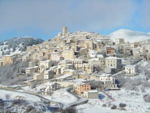 Il borgo d'inverno