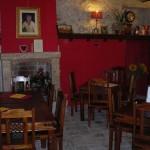 La sala ristorante/colazione